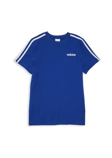 Adidas Boy's Three-Stripe T-Shirt