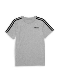 Adidas Boy's Three-Stripe T-Shirt
