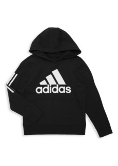 Adidas Boy's Transitional Pullover Hoodie