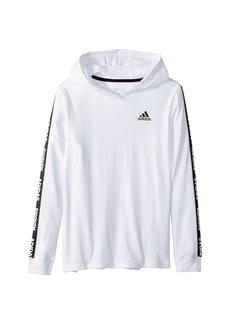 Branded Adidas Sleeve Hoodie (Big Kids)