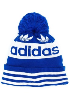 Adidas branded bobble hat