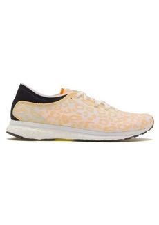 Adidas By Stella McCartney Adizero Adios leopard-bonded mesh trainers