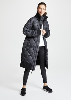 adidas by Stella McCartney Athletic Long Padded Jacket