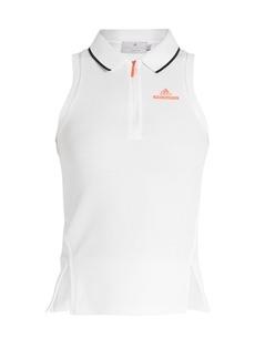 Adidas By Stella McCartney Barricade sleeveless performance polo shirt