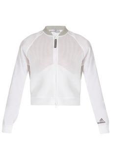 Adidas By Stella McCartney Barricade zip-though performance mesh jacket