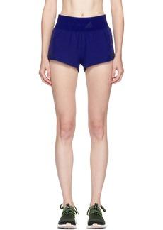adidas by Stella McCartney Blue Climacool Training Shorts