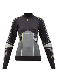 Adidas By Stella McCartney Contrast-panel performance jacket