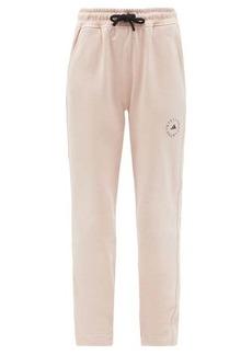 Adidas By Stella McCartney Cotton-jersey track pants