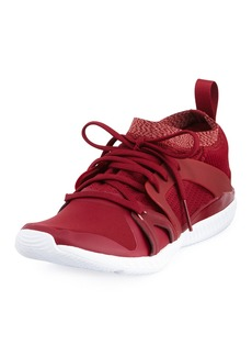 adidas by Stella McCartney CrazyTrain Pro Mid-Top Fabric Trainer Sneakers  Bright Red
