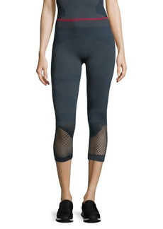 Adidas by Stella McCartney Cropped Training Seamless Tights