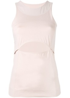 Adidas by Stella McCartney cut-out front tank top