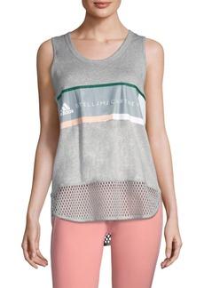 Adidas by Stella McCartney Essentials Logo Graphic Tank