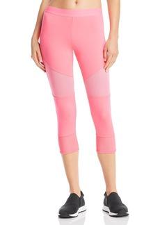 adidas by Stella McCartney Essentials Mesh-Inset Cropped Leggings