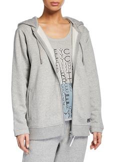 adidas by Stella McCartney Essentials Zip-Front Hoodie Jacket