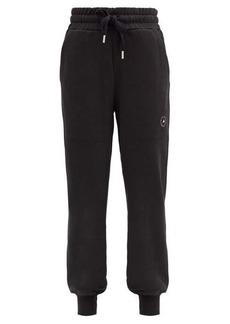 Adidas By Stella McCartney High-rise organic-cotton jersey track pants