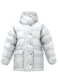 Adidas By Stella McCartney Hooded quilted-shell jacket and gilet