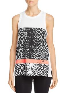 adidas by Stella McCartney Leopard Detail Tank