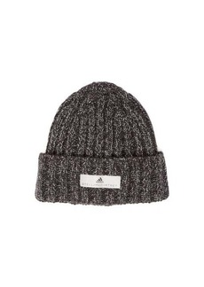 Adidas By Stella McCartney Logo patch knitted beanie hat