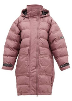Adidas By Stella McCartney Long padded hooded jacket