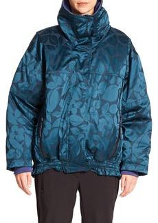 adidas by Stella McCartney Oversized Floral-Print Performance Jacket
