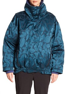 adidas by Stella McCartney Oversized Floral-Print Performance Jacket