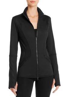 adidas by Stella McCartney Performance Essentials Midlayer Mesh-Inset Jacket