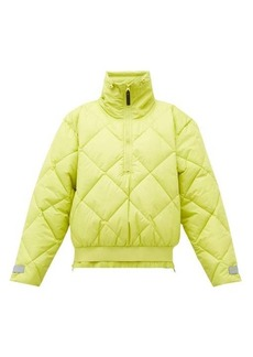 Adidas By Stella McCartney Quilted-shell bomber jacket