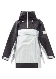 Adidas By Stella McCartney Recycled-ripstop oversized hooded jacket