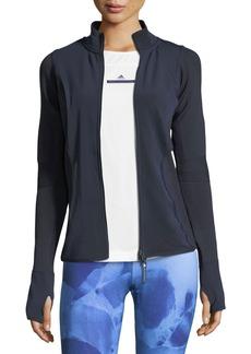 adidas by Stella McCartney Run Knit Mix Mid-Layer Performance Jacket