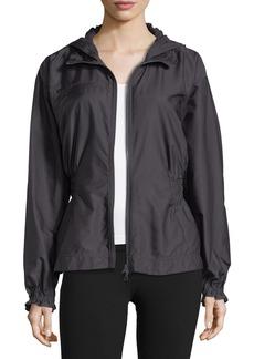 adidas by Stella McCartney Run Zip-Front Hooded Performance Jacket
