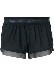 Adidas By Stella Mccartney running shorts - Black