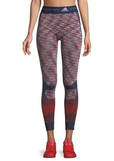 adidas by Stella McCartney Seamless Space-Dye Yoga Tights