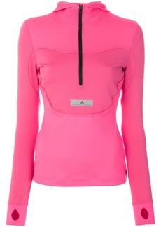Adidas By Stella Mccartney Run hooded jacket - Pink & Purple