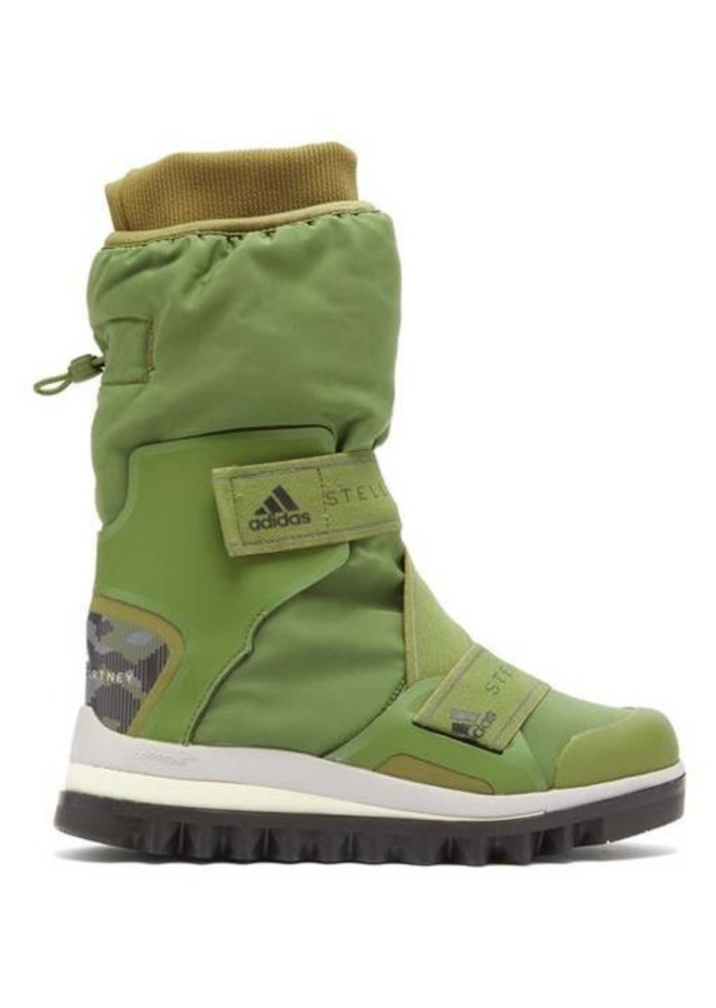 Adidas By Stella McCartney Technical logo-jacquard boots