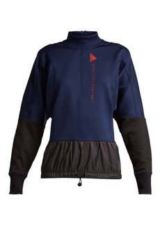 Adidas By Stella McCartney Training contrast-panel performance jacket