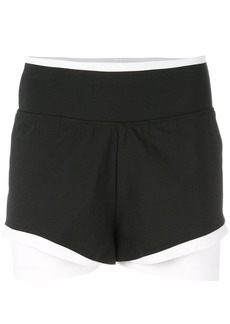 Adidas By Stella Mccartney Training shorts - Black