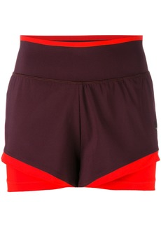 Adidas By Stella Mccartney training shorts - Pink & Purple