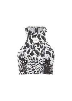 Adidas By Stella McCartney TruePurpose recycled fibre-blend bikini top