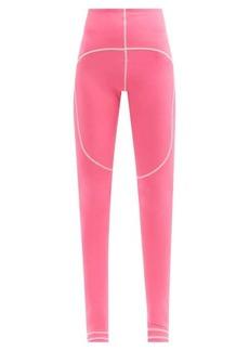 Adidas By Stella McCartney TrueStrength recycled-fibre blend leggings