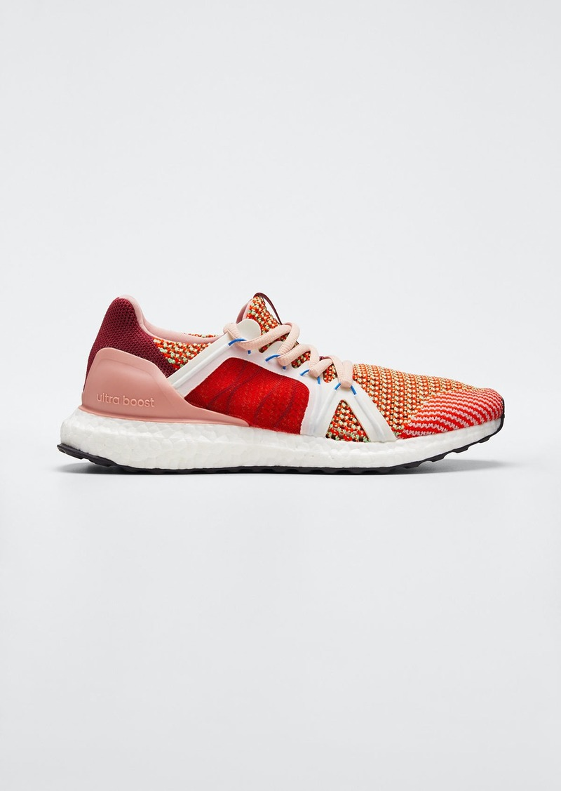 adidas by Stella McCartney Ultraboost Colorblock Stretch Knit Sneakers