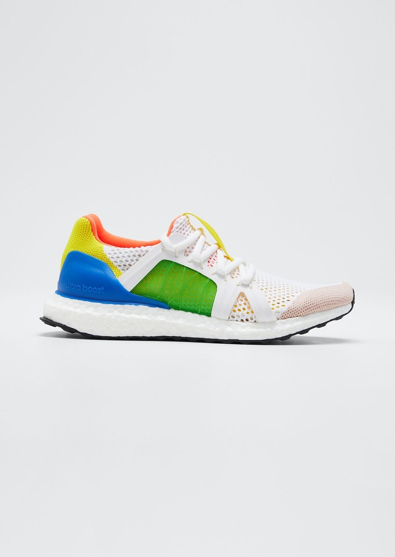 adidas by Stella McCartney Ultraboost Colorblock Stretch Mesh Sneakers