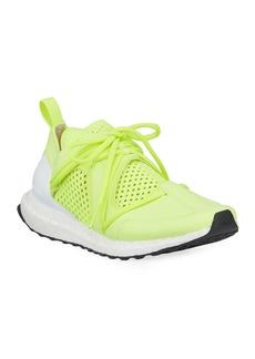 adidas by Stella McCartney Ultraboost Lace-Up Neoprene Running Sneakers  Yellow