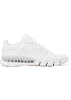 Adidas By Stella Mccartney Woman Paneled Mesh And Stretch-knit Sneakers White