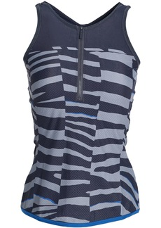 Adidas By Stella Mccartney Woman Printed Stretch Tank Stone
