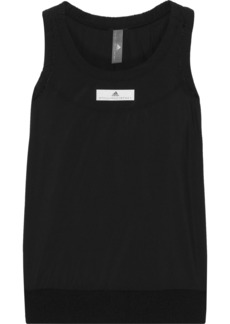 Adidas By Stella Mccartney Woman Run Adizero Shell Tank Black