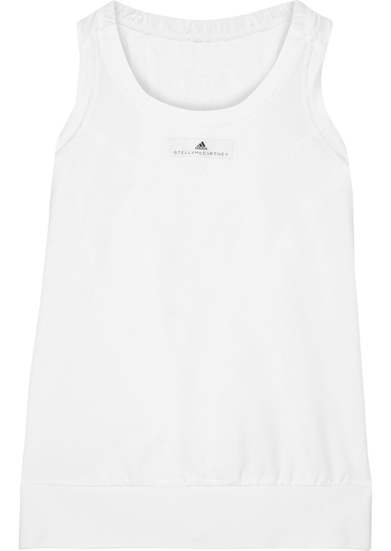 Adidas By Stella Mccartney Woman Run Adizero Shell Tank White