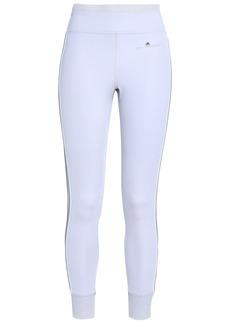 Adidas By Stella Mccartney Woman Stretch-jersey Leggings Light Gray