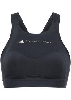 Adidas By Stella Mccartney Woman Stretch Sports Bra Black