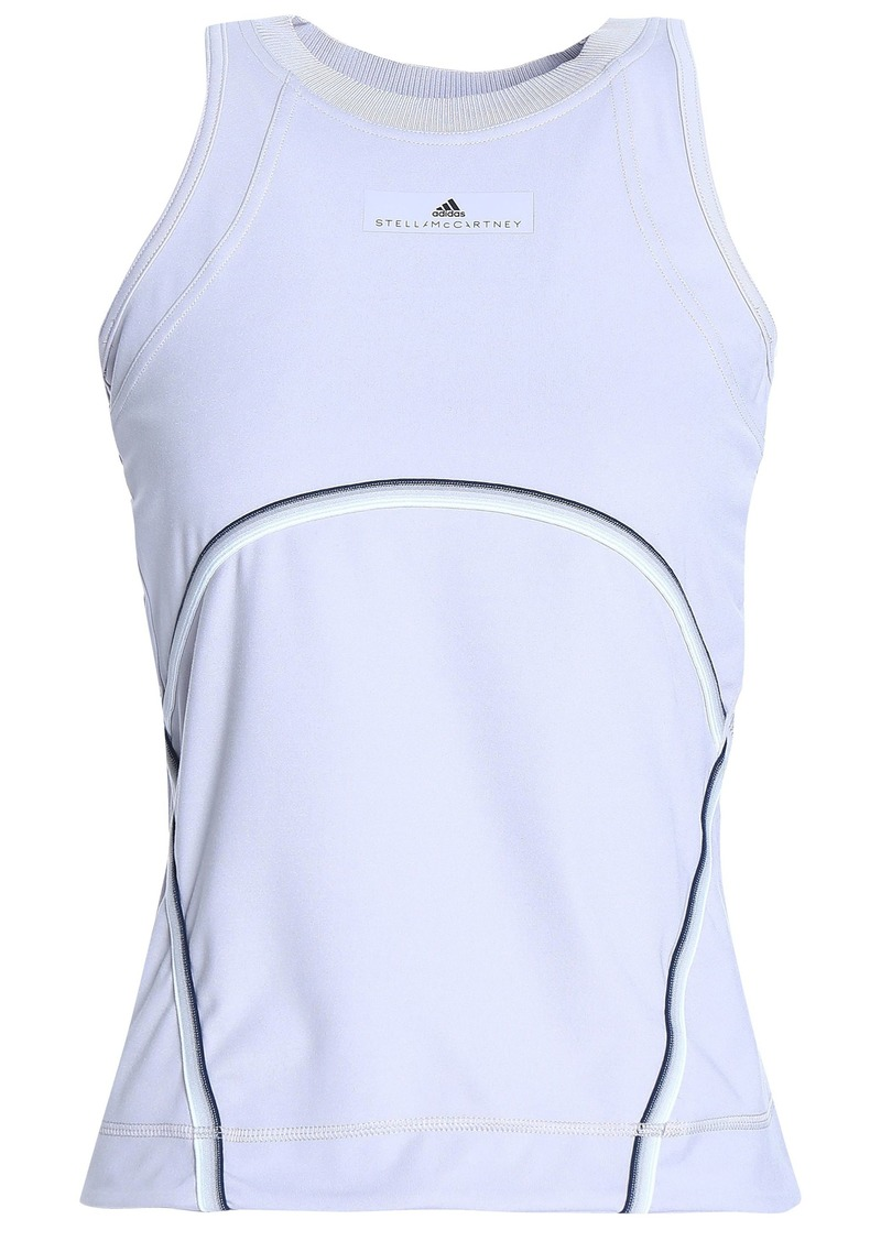 Adidas By Stella Mccartney Woman Stretch Tank Light Gray