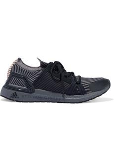 Adidas By Stella Mccartney Woman Ultraboost 2.0 Jacquard-knit Sneakers Black